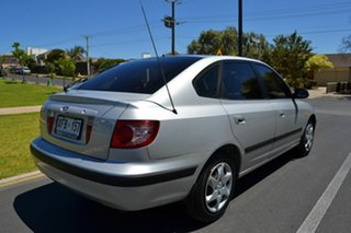 2005 Hyundai Elantra XD MY05 FX Silver 4 Speed Automatic Hatchback.