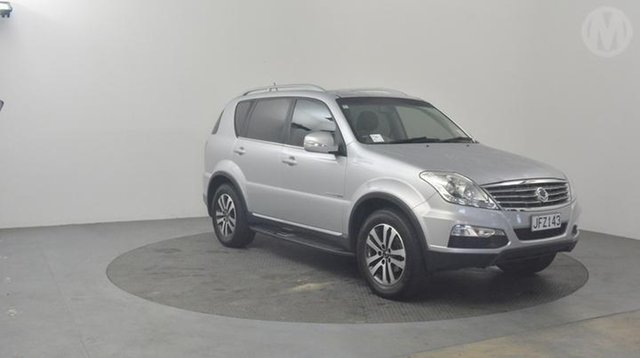Used Ssangyong Rexton  , 2015 Ssangyong Rexton Sports 360 Silver 5spd Tiptronic Wagon