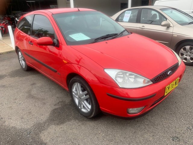 Used Ford Focus  , 2002 Ford Focus MY2003 ZETEC auto Red 4 Speed Automatic Hatchback