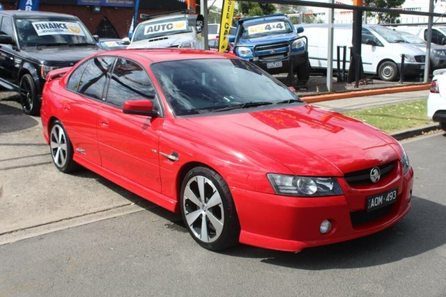 Used Holden Commodore VZ SSZ, 2005 Holden Commodore VZ SSZ Red 4 Speed Automatic Sedan