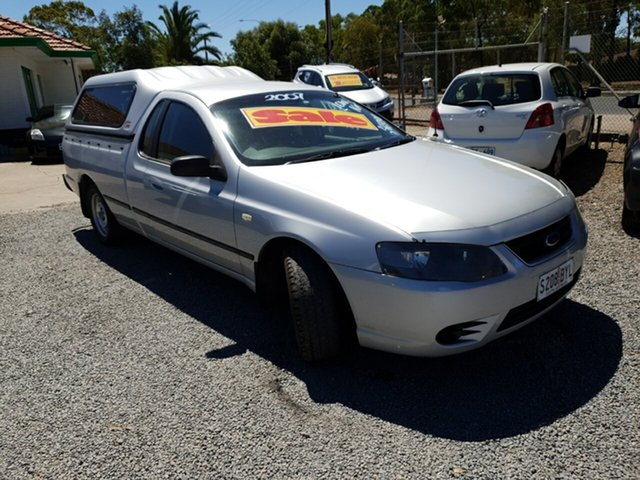 Used Ford Falcon BF Mk II XL Ute Super Cab, 2007 Ford Falcon BF Mk II XL Ute Super Cab Silver 4 Speed Sports Automatic Utility