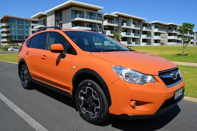 Used Subaru XV G4X MY12 2.0i Lineartronic AWD, 2012 Subaru XV G4X MY12 2.0i Lineartronic AWD Orange 6 Speed Constant Variable Wagon