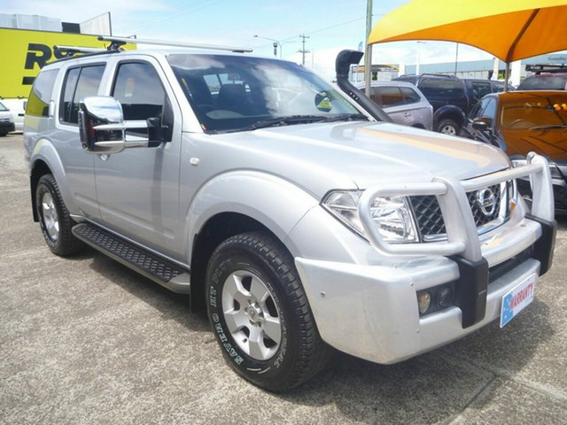 Used Nissan Pathfinder R51 MY07 ST, 2007 Nissan Pathfinder R51 MY07 ST Silver 5 Speed Sports Automatic Wagon