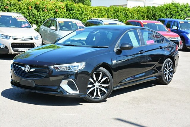 Used Holden Commodore ZB MY18 RS Liftback, 2017 Holden Commodore ZB MY18 RS Liftback Black 9 Speed Sports Automatic Liftback