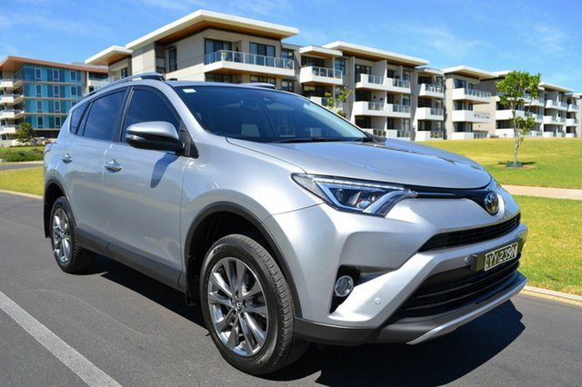 Used Toyota RAV4 ASA44R Cruiser AWD, 2017 Toyota RAV4 ASA44R Cruiser AWD Silver 6 Speed Sports Automatic Wagon