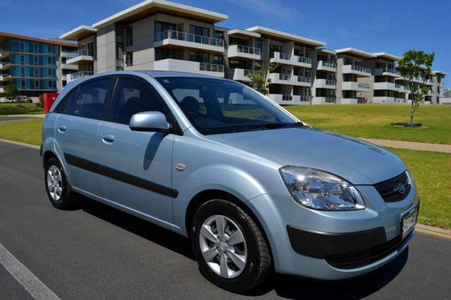Used Kia Rio JB MY07 LX, 2008 Kia Rio JB MY07 LX Blue 5 Speed Manual Hatchback