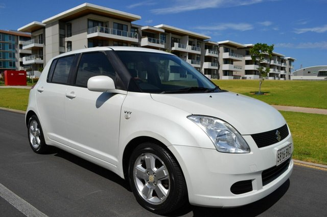 Used Suzuki Swift RS415 , 2006 Suzuki Swift RS415 White 5 Speed Manual Hatchback