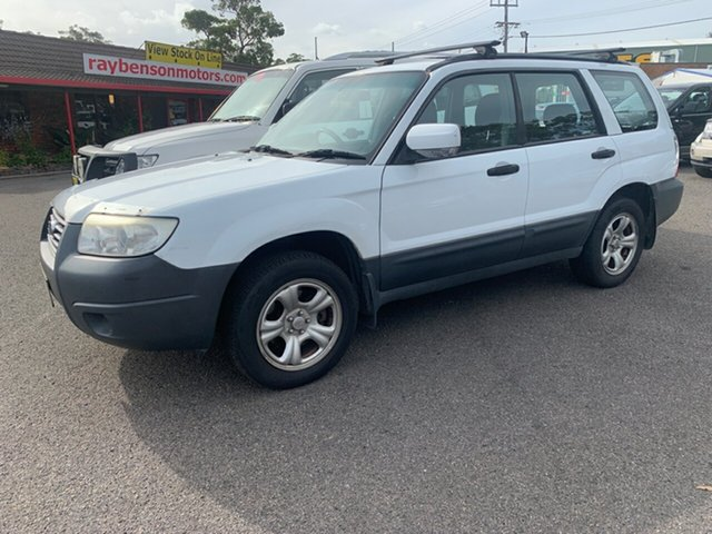 Used Subaru Forester 79V MY06 , 2005 Subaru Forester 79V MY06 X AWD 5 SPEED MANUAL White 5 Speed Manual Wagon