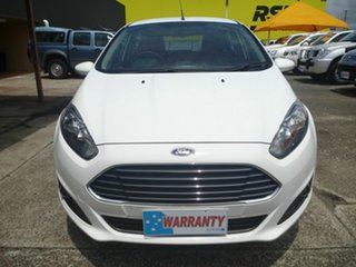 2014 Ford Fiesta WZ MY15 Trend PwrShift White 6 Speed Sports Automatic Dual Clutch Hatchback