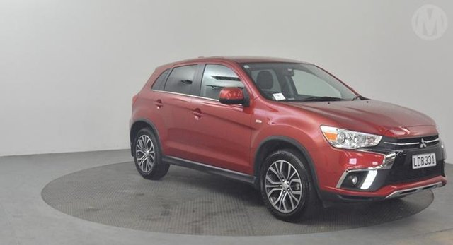 Used Mitsubishi ASX  , 2018 Mitsubishi ASX XLS Red Continuous Variable Wagon