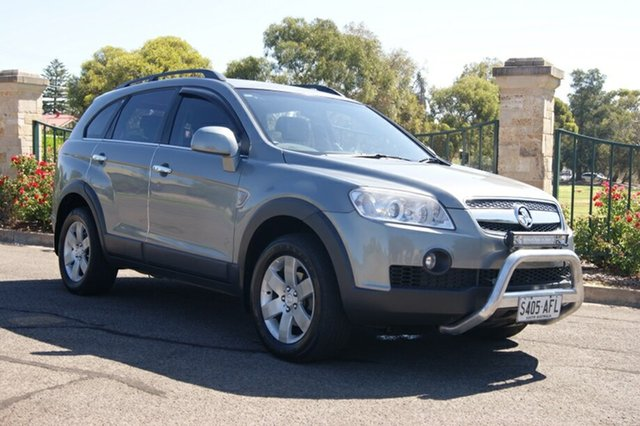 Used Holden Captiva CG MY09.5 CX (4x4), 2009 Holden Captiva CG MY09.5 CX (4x4) Grey 5 Speed Automatic Wagon