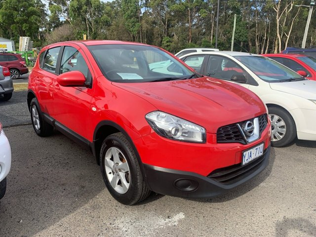 Used Nissan Dualis J10 , 2012 Nissan Dualis J10 ST SERIES II 4X2 Red 5 Speed Automatic Wagon