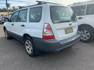 2005 Subaru Forester 79V MY06 X AWD 5 SPEED MANUAL White 5 Speed Manual Wagon.