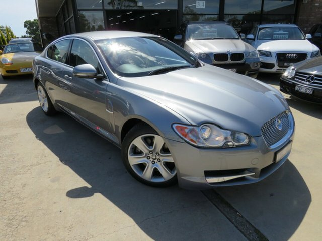 Used Jaguar XF X250 MY10 Luxury, 2010 Jaguar XF X250 MY10 Luxury Lunar Grey 6 Speed Sports Automatic Sedan