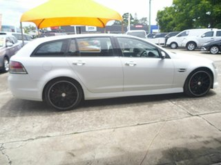 2010 Holden Commodore VE MY10 SV6 Sportwagon White 6 Speed Automatic Wagon