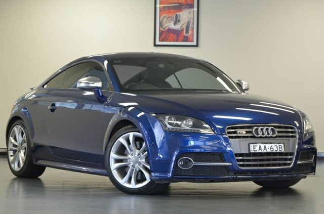 Used Audi TT 8J MY11 S S Tronic Quattro, 2010 Audi TT 8J MY11 S S tronic quattro Blue 6 Speed Sports Automatic Dual Clutch Coupe
