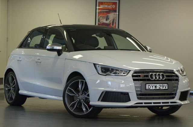 Used Audi S1 8X MY18 Sportback Quattro, 2018 Audi S1 8X MY18 Sportback Quattro White 6 Speed Manual Hatchback