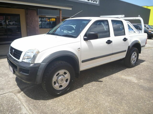 Used Holden Rodeo RA MY06 LX Crew Cab 4x2, 2006 Holden Rodeo RA MY06 LX Crew Cab 4x2 White 4 Speed Automatic Utility