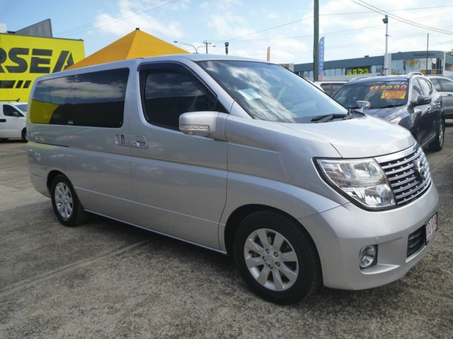 Used Nissan Elgrand E51 Highway Star, 2008 Nissan Elgrand E51 Highway Star Silver 5 Speed Automatic Wagon