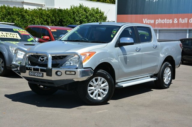 Used Mazda BT-50 UP0YF1 XTR, 2013 Mazda BT-50 UP0YF1 XTR Silver 6 Speed Sports Automatic Utility