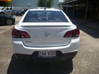 2015 Holden Commodore VF MY15 SS V Redline White 6 Speed Manual Sedan