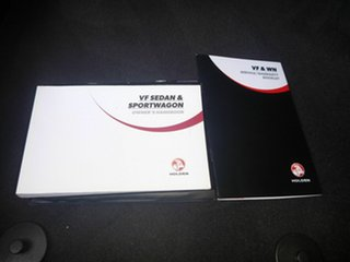 2015 Holden Commodore VF MY15 SS V Redline White 6 Speed Manual Sedan.