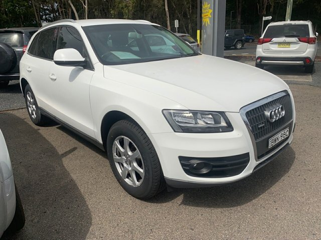 Used Audi Q5  , 2011 Audi Q5 8R MY11 TFSI QUATTRO 2.0T White 7 Speed Steptronic Wagon