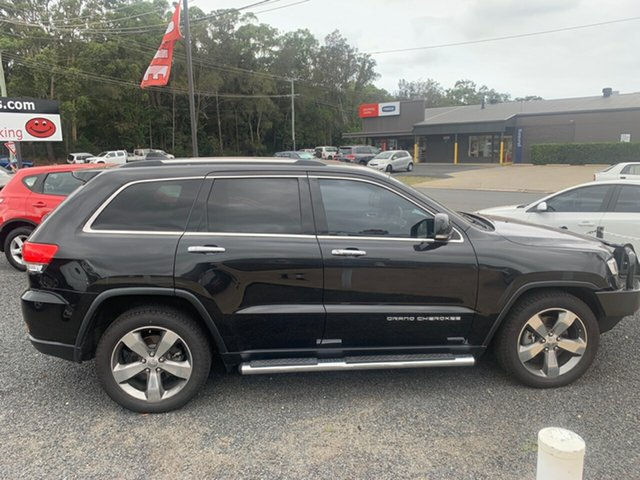 Used Jeep Grand Cherokee  , 2014 Jeep Grand Cherokee LIMITED 4x4 diesel Black 8 Speed Automatic Wagon