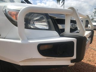 2009 Ford Ranger PK XL (4x4) White 5 Speed Manual Cab Chassis.