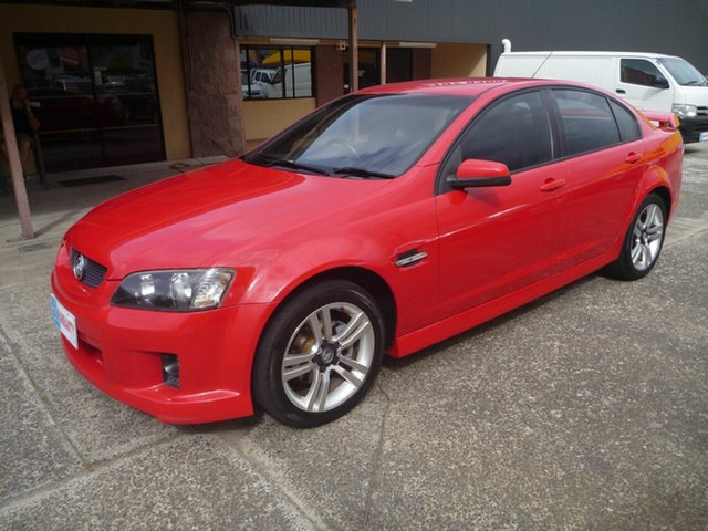 Used Holden Commodore VE SV6, 2006 Holden Commodore VE SV6 Red 5 Speed Sports Automatic Sedan