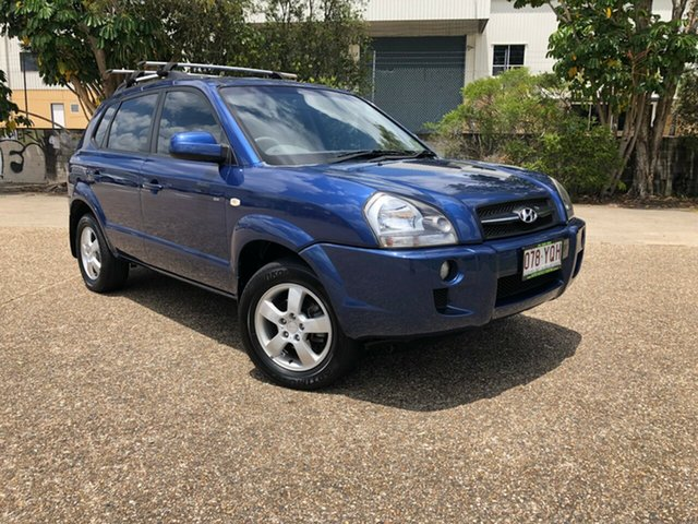 Used Hyundai Tucson JM MY09 City SX, 2008 Hyundai Tucson JM MY09 City SX Blue 4 Speed Sports Automatic Wagon