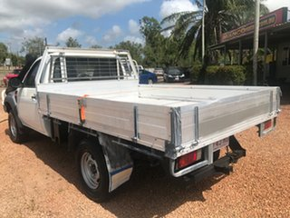 2009 Ford Ranger PK XL (4x4) White 5 Speed Manual Cab Chassis