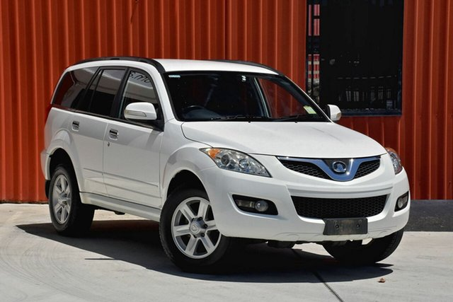 Used Great Wall X240 CC6461KY , 2011 Great Wall X240 CC6461KY White 5 Speed Manual Wagon