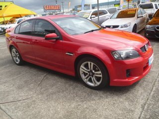 2006 Holden Commodore VE SV6 Red 5 Speed Sports Automatic Sedan