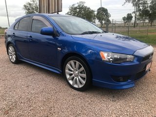 2010 Mitsubishi Lancer CJ MY10 VR-X Sportback Blue 5 Speed Manual Hatchback.
