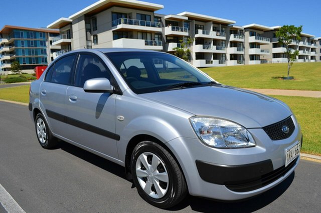 Used Kia Rio JB , 2007 Kia Rio JB Silver 4 Speed Automatic Hatchback
