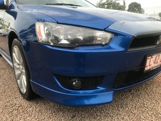 2010 Mitsubishi Lancer CJ MY10 VR-X Sportback Blue 5 Speed Manual Hatchback