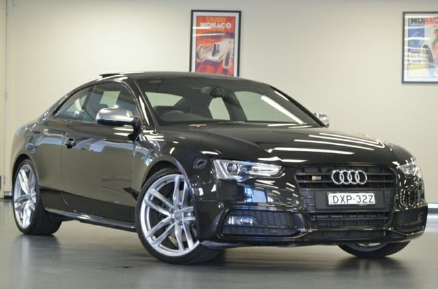 Used Audi S5 8T MY15 , 2015 Audi S5 8T MY15 Brilliant Black Semi Auto Coupe