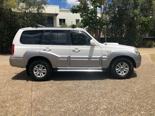 2005 Hyundai Terracan HP MY05 White 4 Speed Automatic Wagon