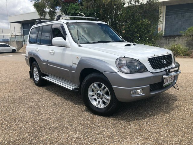 Used Hyundai Terracan HP MY05 , 2005 Hyundai Terracan HP MY05 White 4 Speed Automatic Wagon