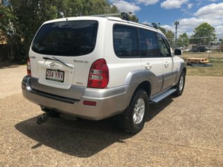 2005 Hyundai Terracan HP MY05 White 4 Speed Automatic Wagon.