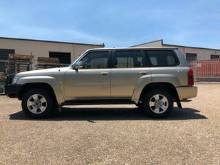 2005 Nissan Patrol GU IV MY05 ST-S Gold 5 Speed Manual Wagon