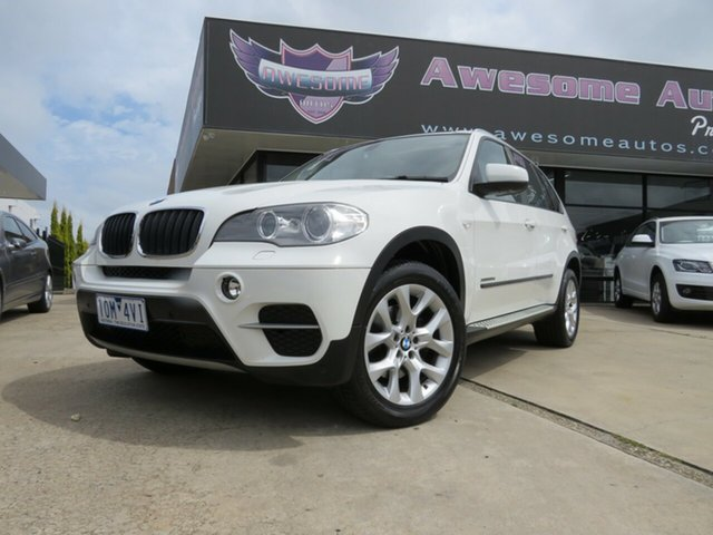Used BMW X5 E70 MY12.5 xDrive30d Steptronic, 2012 BMW X5 E70 MY12.5 xDrive30d Steptronic Alpine White 8 Speed Sports Automatic Wagon