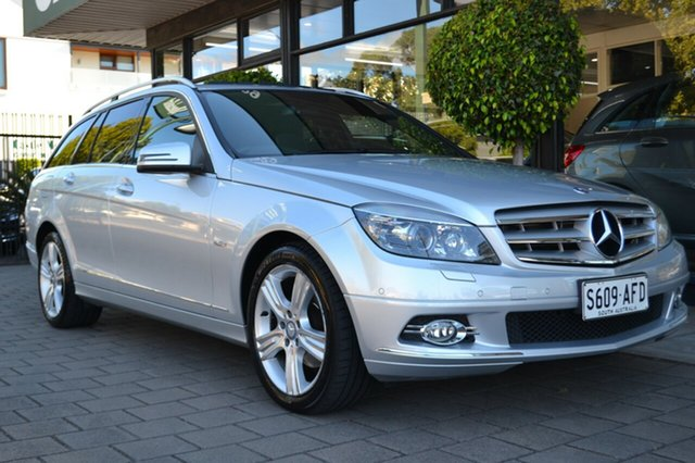 Used Mercedes-Benz C220 CDI W204 Avantgarde Special Edition, 2009 Mercedes-Benz C220 CDI W204 Avantgarde Special Edition Silver 5 Speed Sports Automatic Wagon