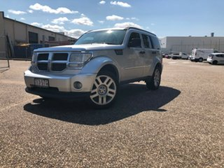 2009 Dodge Nitro KA MY09 SXT Silver 5 Speed Sports Automatic Wagon.