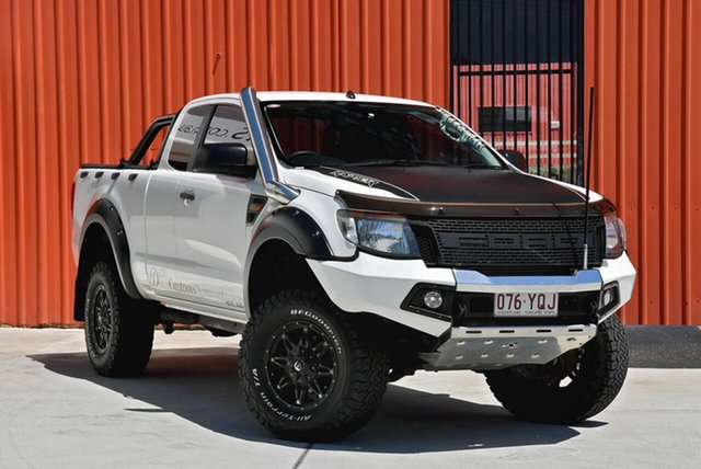 Used Ford Ranger PX XL Super Cab, 2014 Ford Ranger PX XL Super Cab White 6 Speed Manual Utility