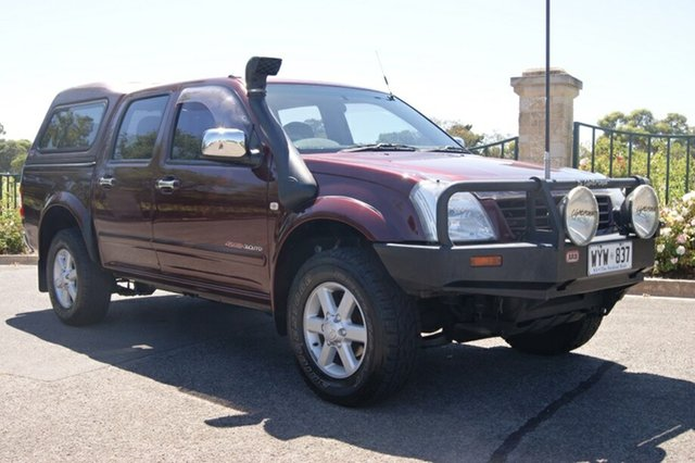 Used Holden Rodeo RA LT (4x4), 2003 Holden Rodeo RA LT (4x4) 5 Speed Manual Crew Cab Pickup