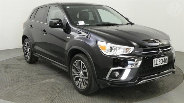 Used Mitsubishi ASX  , 2018 Mitsubishi ASX XLS Black Continuous Variable Transmission Wagon