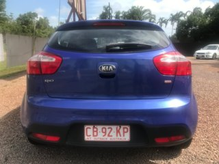 2012 Kia Rio UB MY13 SI Blue 6 Speed Sports Automatic Hatchback