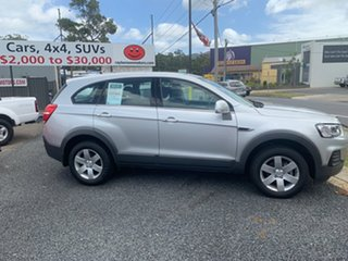 2016 Holden Captiva 7 LS 7 SEATER Silver 6 Speed Automatic Wagon